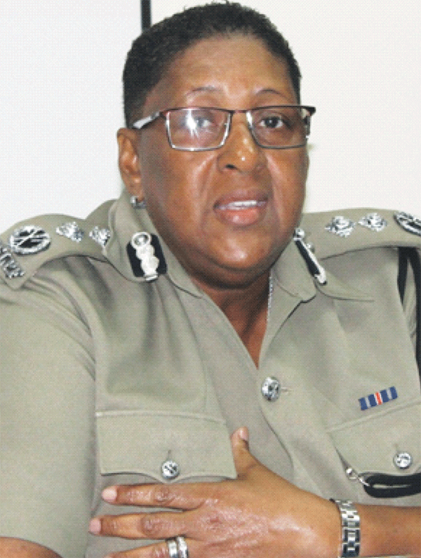 Deputy Commissioner of Police Frances Henry