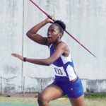 Javelin thrower Rochelle Etienne [Photo: Anthony De Beauville]