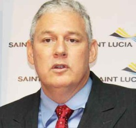 United Workers Party leader Allen Chastanet.