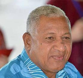 Prime Minister of Fiji, Voreqe Bainimarama