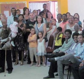 Some members of the Lutheran community in St. Lucia