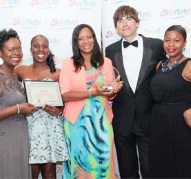 SLTB's Director of Marketing for the UK and Europe Atlyn Forde with other SLTB team members.