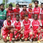 Dennery under -18s (Photo Anthony De Beauville)