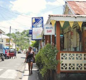 Image: Anse la Raye - among the poorest villages in St. Lucia