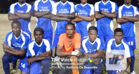 Image: Team Gros Islet 6-0 win over South Castries on Tuesday evening. (PHOTO: Anthony De Beauville)