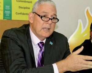 UWP Political Leader, Allen Chastanet. [Photo: Stan Bishop]