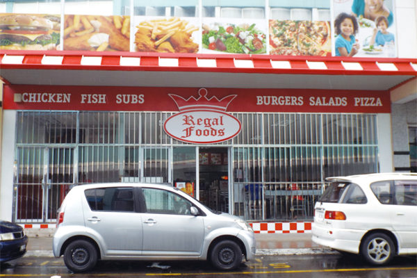 Image of Regal Foods in Bridge Street, Castries.