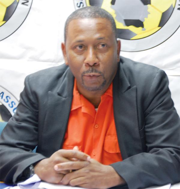 SLFA President Lyndon Cooper [Photo: Anthony De Beauville]