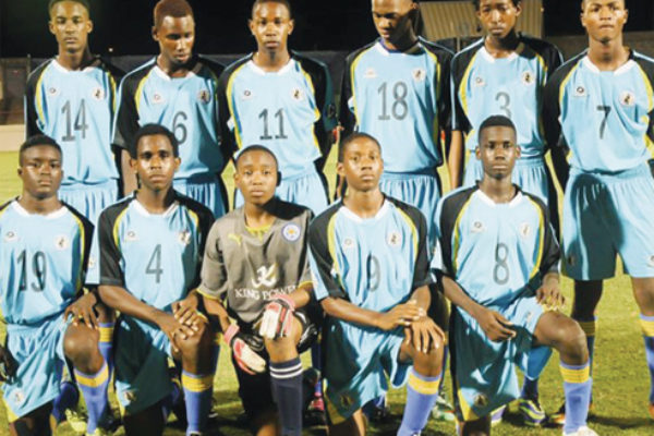 National Under-17 football team off to Honduras (Photo: Anthony)