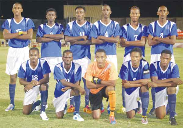 Gros Islet 11 goals in two matches continue their unbeaten run in the tournament. [Photo: Anthony De Beauville]