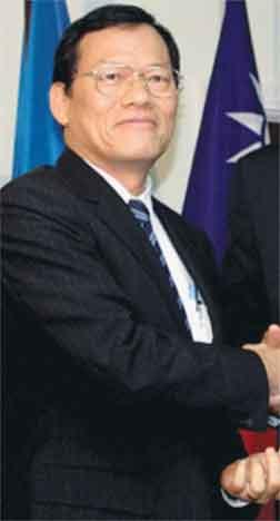 James Chang, Ambassador of the Republic of China (Taiwan)