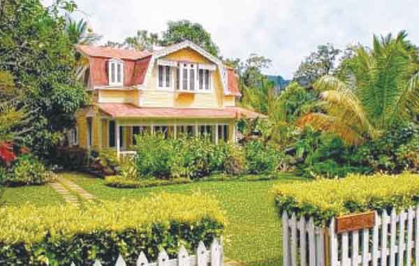 Angelina, a French colonial  style cottage  at Fond Doux