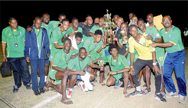 Champions St. Vincent and the Grenadines (Photo: Anthony De Beauville)