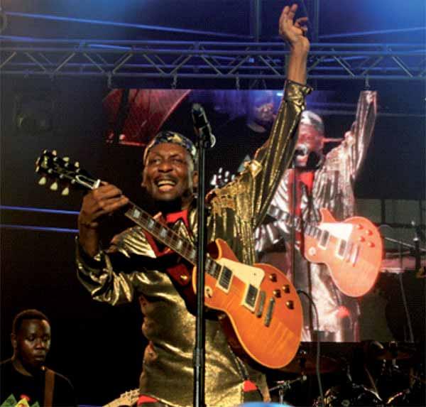 Reggae legend, Jimmy Cliff, bringing this year's jazz season to a close last Sunday evening. [Photo: Stan Bishop]