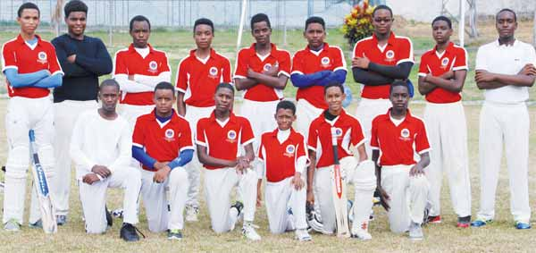 St. Mary's College winning team. [Photo: Anthony De Beauville]
