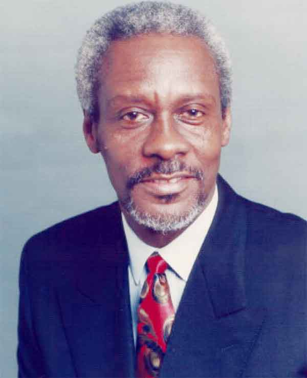 Former Jamaican Prime Minister P.J. Patterson