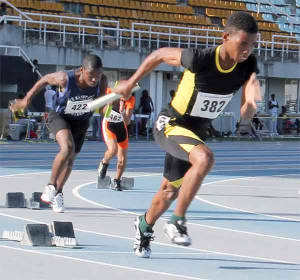 Pace Setters out to defend relay championship (Photo: Anthony de Beauville)