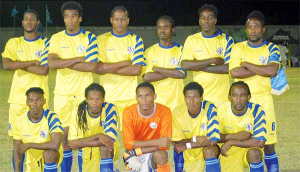 Team St. Lucia (Photo: Anthony de Beauville)