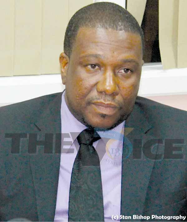 Image: MINISTER for External Affairs, Alva Baptiste