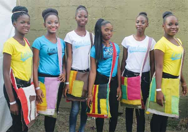 Image:  The Eduval Pageant contestants