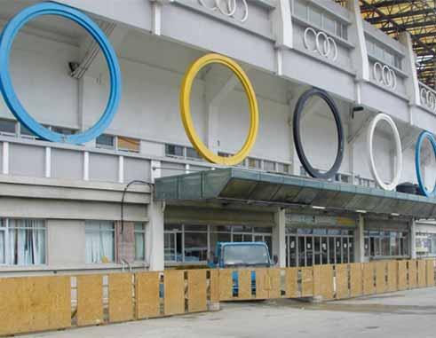 Image of The George Odlum Stadium.