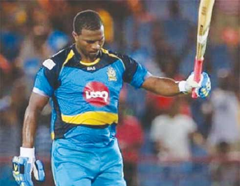 Image of Zouks opening batsman Johnson Charles