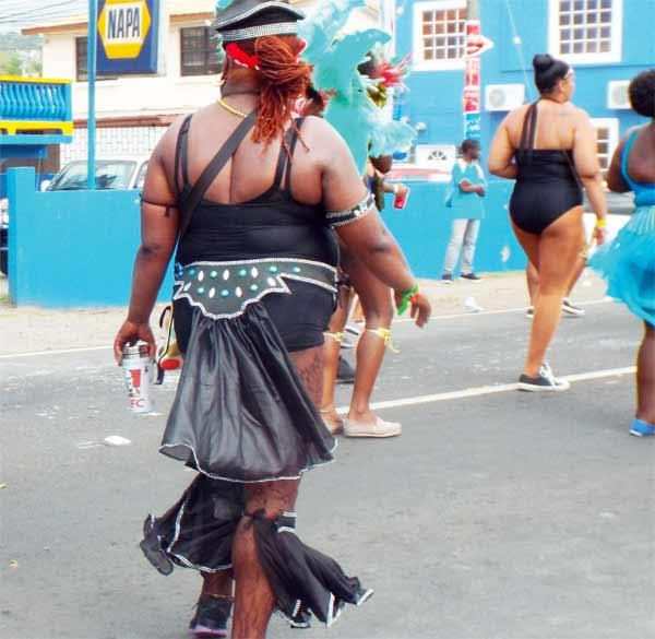 Image of Full-figured women in Carnival 2015