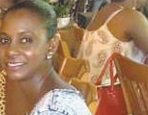 Accident victim Yanna Auguste.