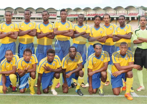 Blackheart reigning champions Canaries. (Photo Anthony De Beauville)