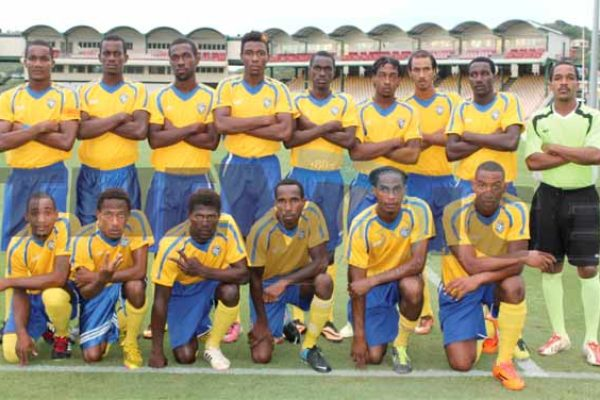 Defending Blackheart Champions Canaries (Photo: Anthony De Beauville)