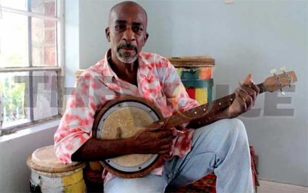 "Veteran cultural activist, George ""Fish"" Alphonse. [Photo: Stan Bishop]"