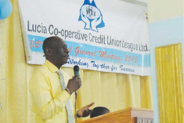 Addressing the League's annual general meeting