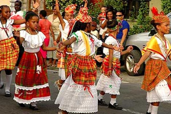 Image of Youngsters celebrating local culture.