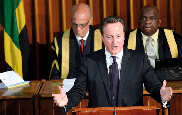 Image of British Prime Minister David Cameron