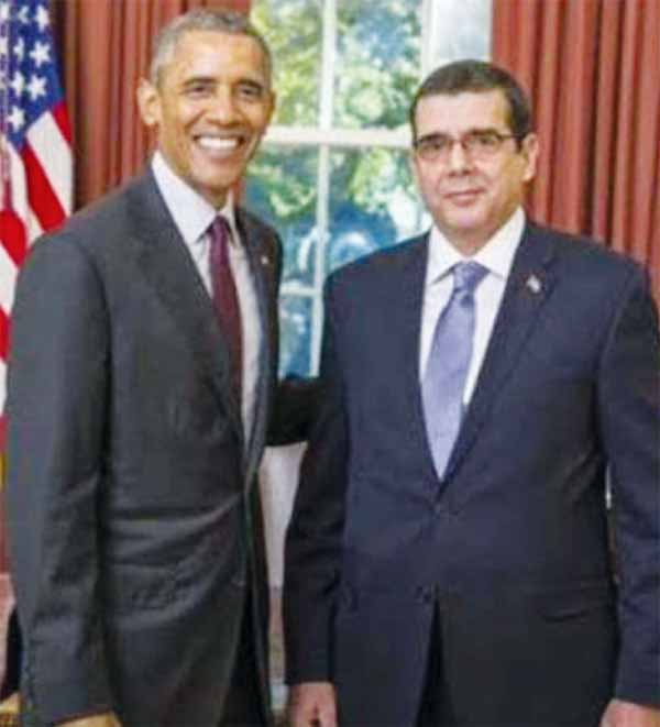 The President of the United States, Barack Obama, received the credentials of Jose Ramon Cabanas, the first Cuban Ambassador to the USA since 1959. But the Republican Congress has so far ensured he can't appoint a US Ambassador to Cuba.
