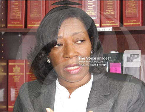 Image: Director of Public Prosecutions, Victoria Charles-Clarke. [PHOTO: Stan Bishop]