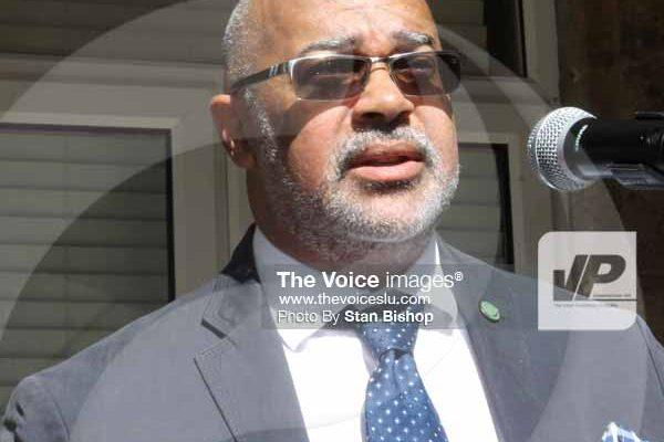 Image: OECS Director-General Dr. Didacus Jules.[PHOTO: Stan Bishop]