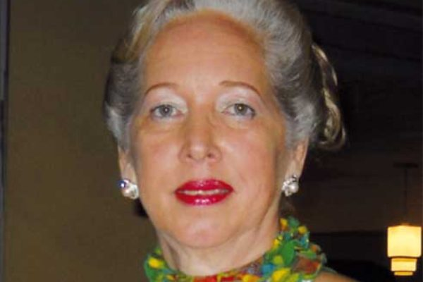 Image: Paula Calderon, President of the St. Lucia Sickle Cell Association