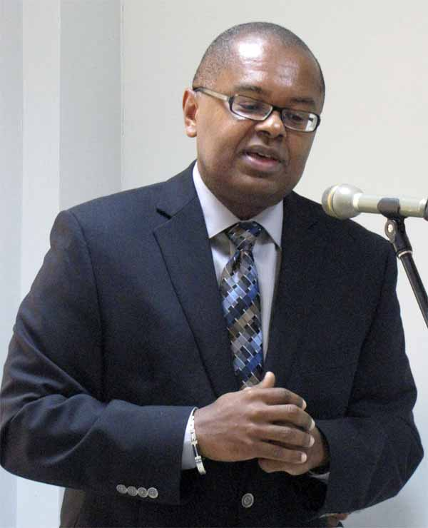 Image: Saint Lucia's Minister for Sustainable Development, James Fletcher