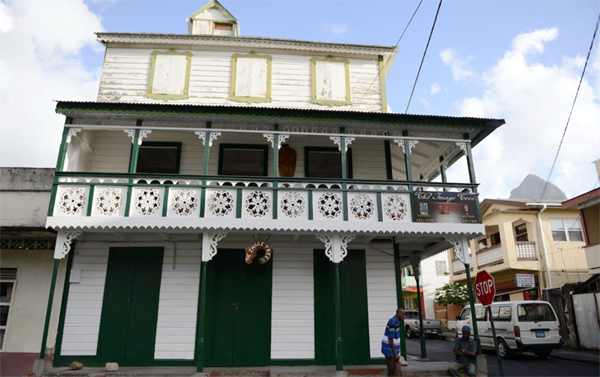 One of the historical Soufriere buildings