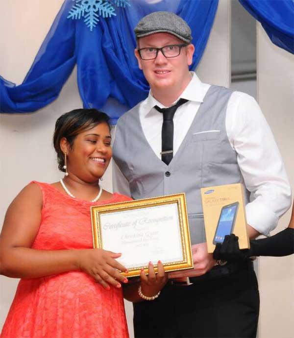 Smile of the Year Award winner - Marryanne Mangal.