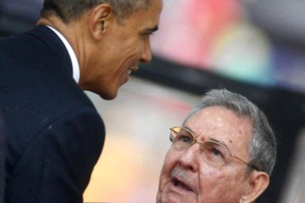 Obama and Castro