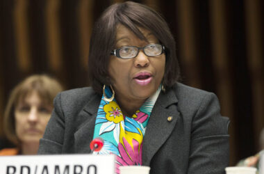 Image of PAHO Director, Dr. Carissa Etienne