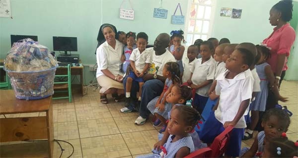 The presentation at Holy Family Children's House.