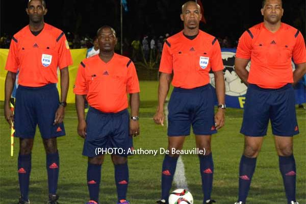 Who will it be for Football Referee of the Year. (PHOTO: Anthony De Beauville)