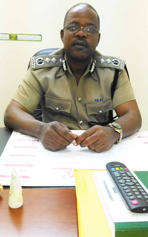 Image: Acting Deputy Commissioner Severin Moncherry