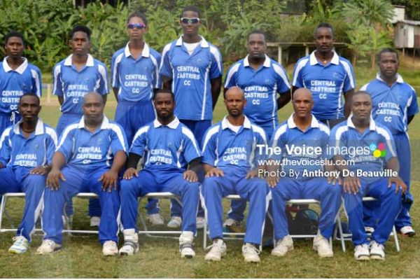 Image: Central Castries PM T20 Champions [PHOTO: Anthony De Beauville]