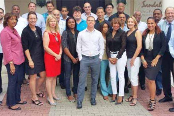 Image: Sandals Resorts International and CGRI in Jamaica.