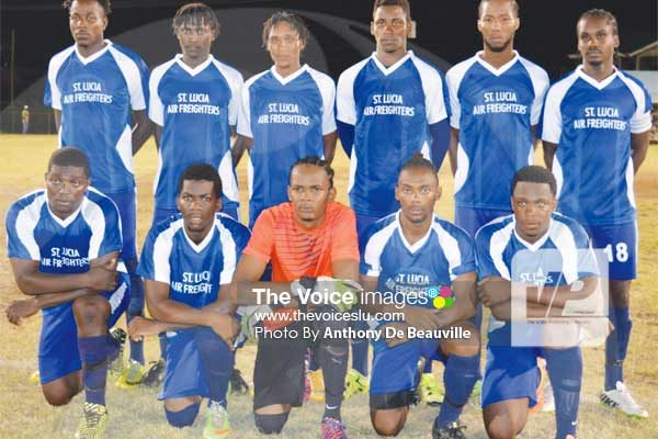 Image: Defending champions Gros Islet (Photo by Anthony De Beauville)