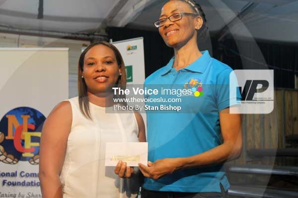 Invest Saint Lucia also made an investment to the NCF last Sunday.